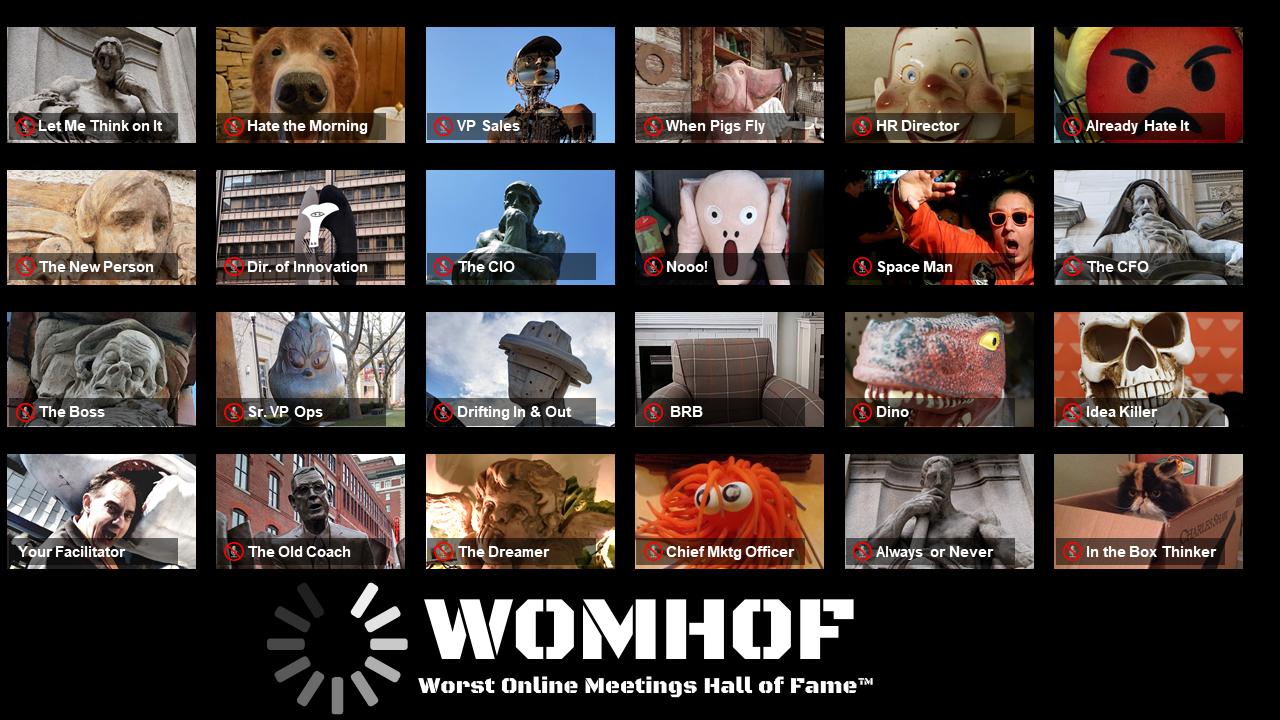 WOMHOF MEMBERS